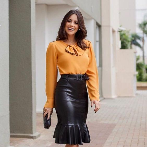 Ruffle skirt designs