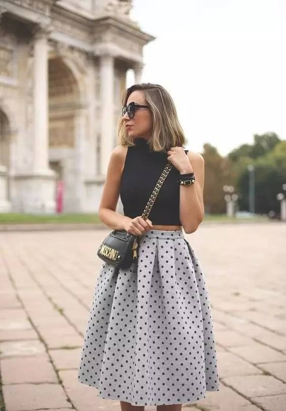 Skirts with volume