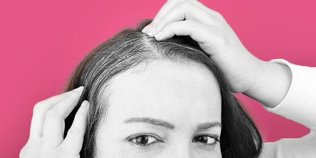 What gray hair says about you and what to do to cover it up or ... show it off!
