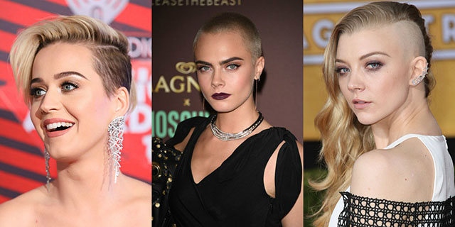 Shaved, integral and undercut hair: tips and 8 vip ideas for a radical change