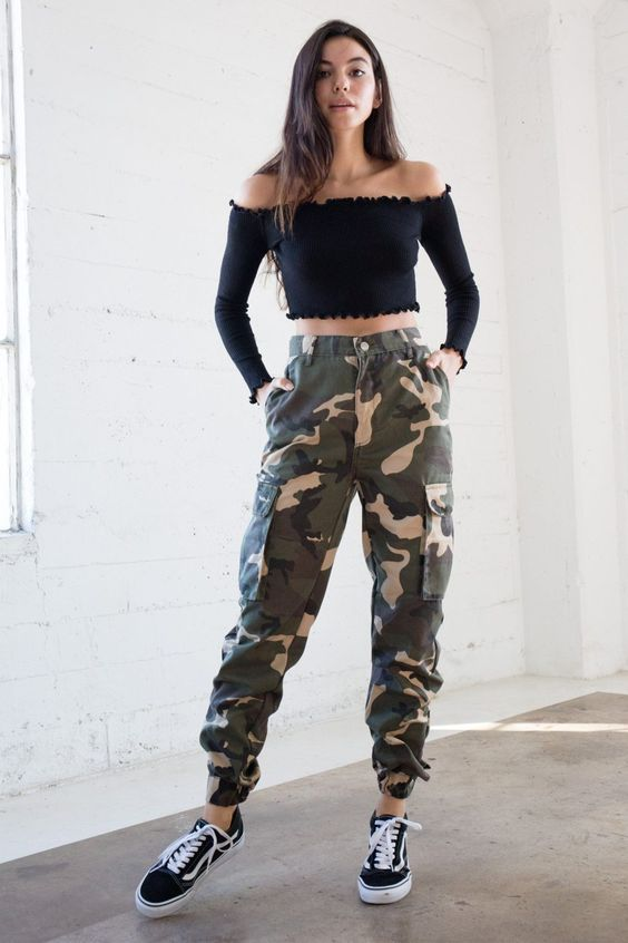Ways to wear military-style clothing if you are a mature woman