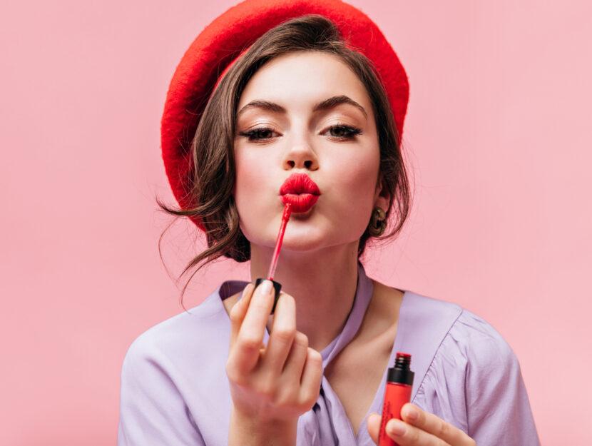 liquid lipstick kiss