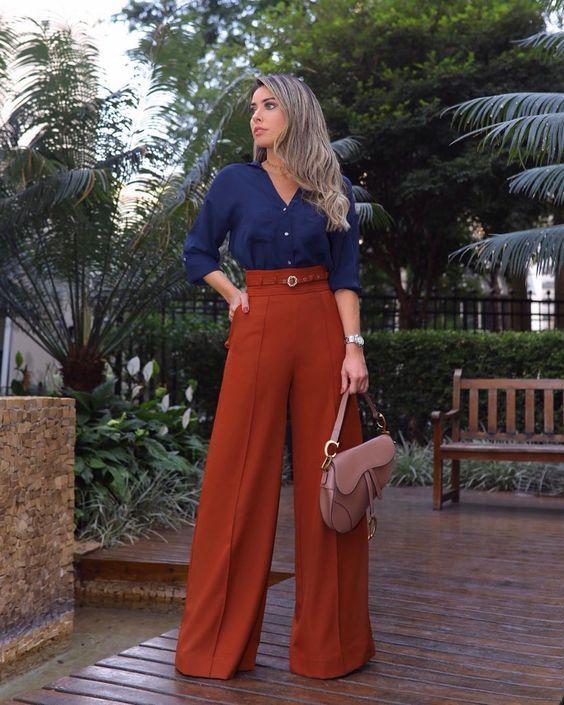 Looks with palazzo pants