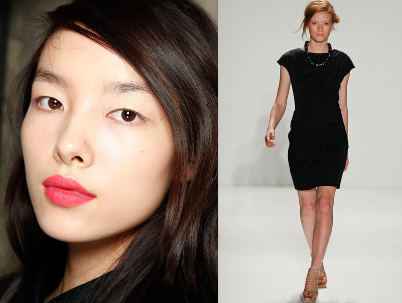 how to wear make-up with the little dress n