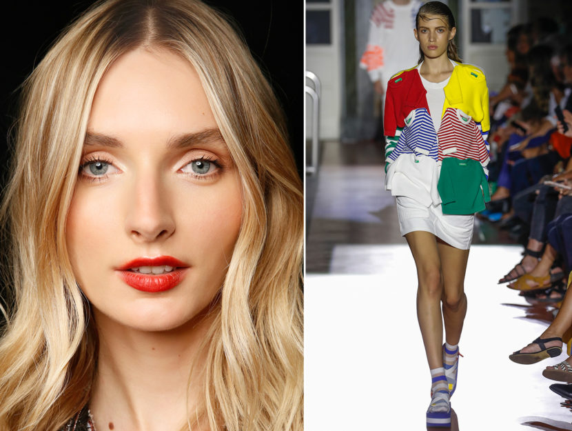 how to wear make-up with sports clothes