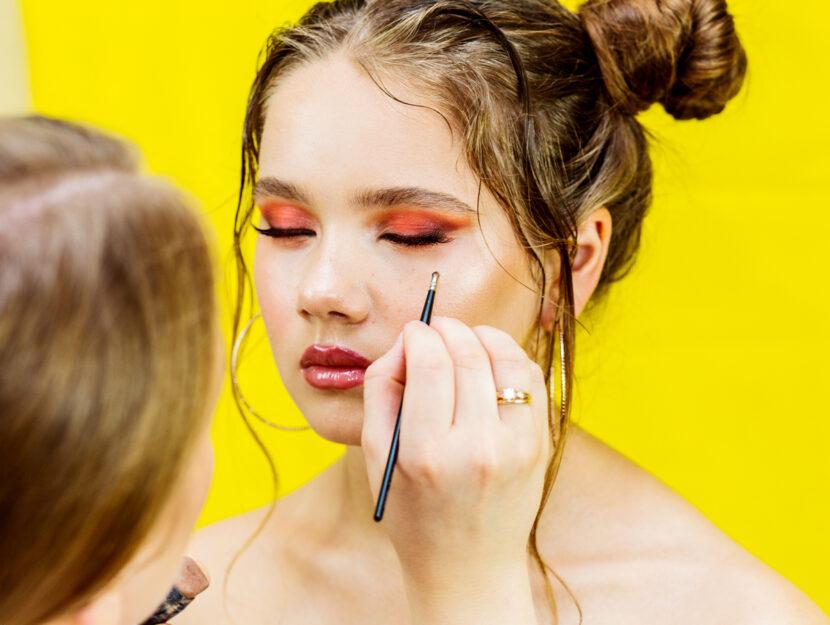 love makeup freckles