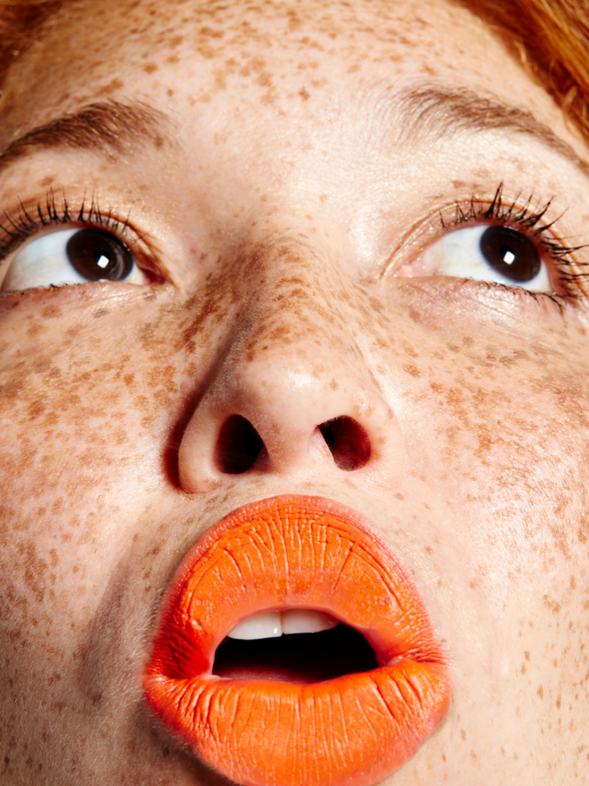 perfect make-up for those with freckles