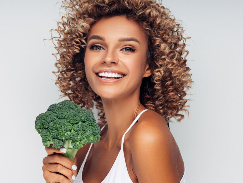 lengthen broccoli eyelashes