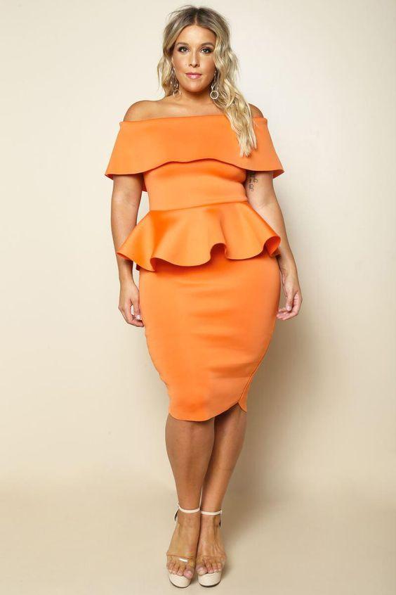 Opt for peplum-style garments