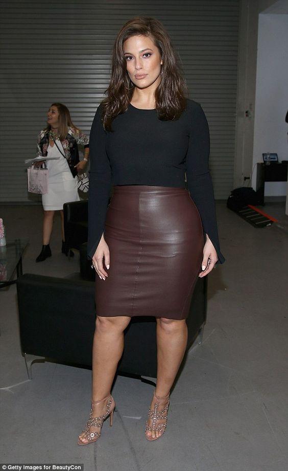 Wear pencil-cut skirts
