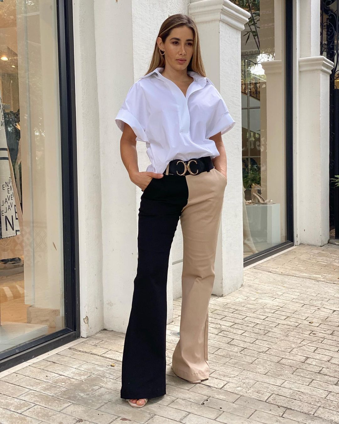 Opt for wide leg pants