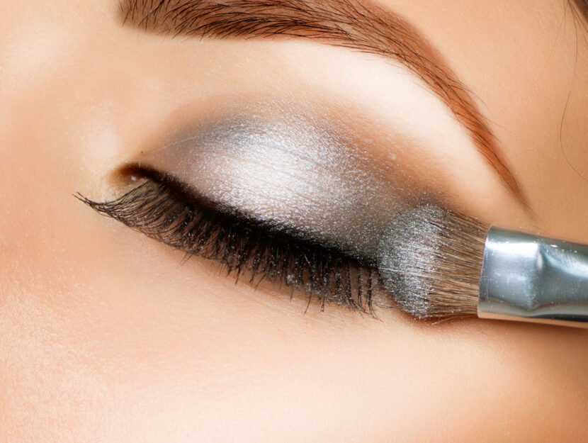 cancer sign and make up eyeshadow