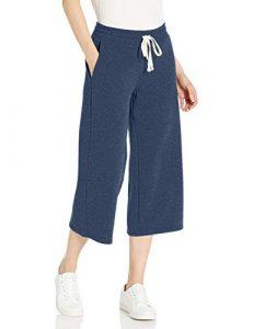 Wide capri pants