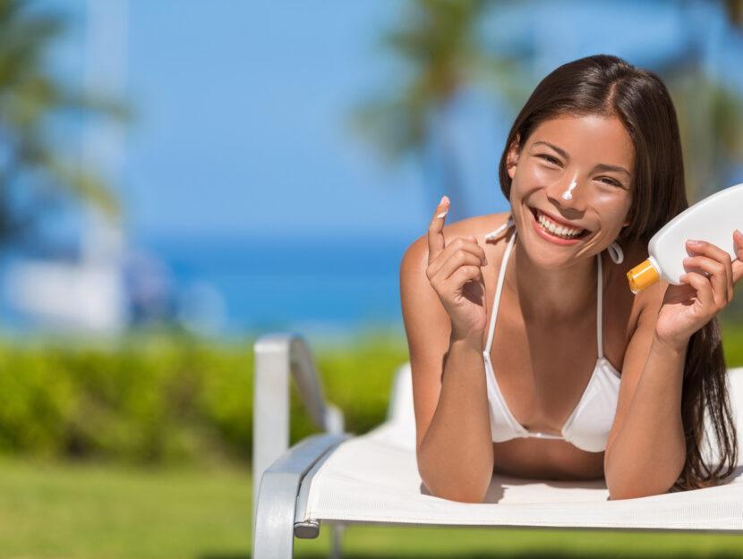 skin sunscreen
