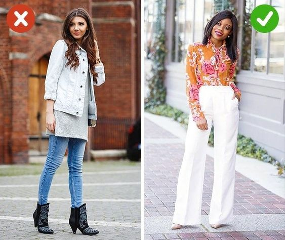 How to look taller, slimmer and more stylish