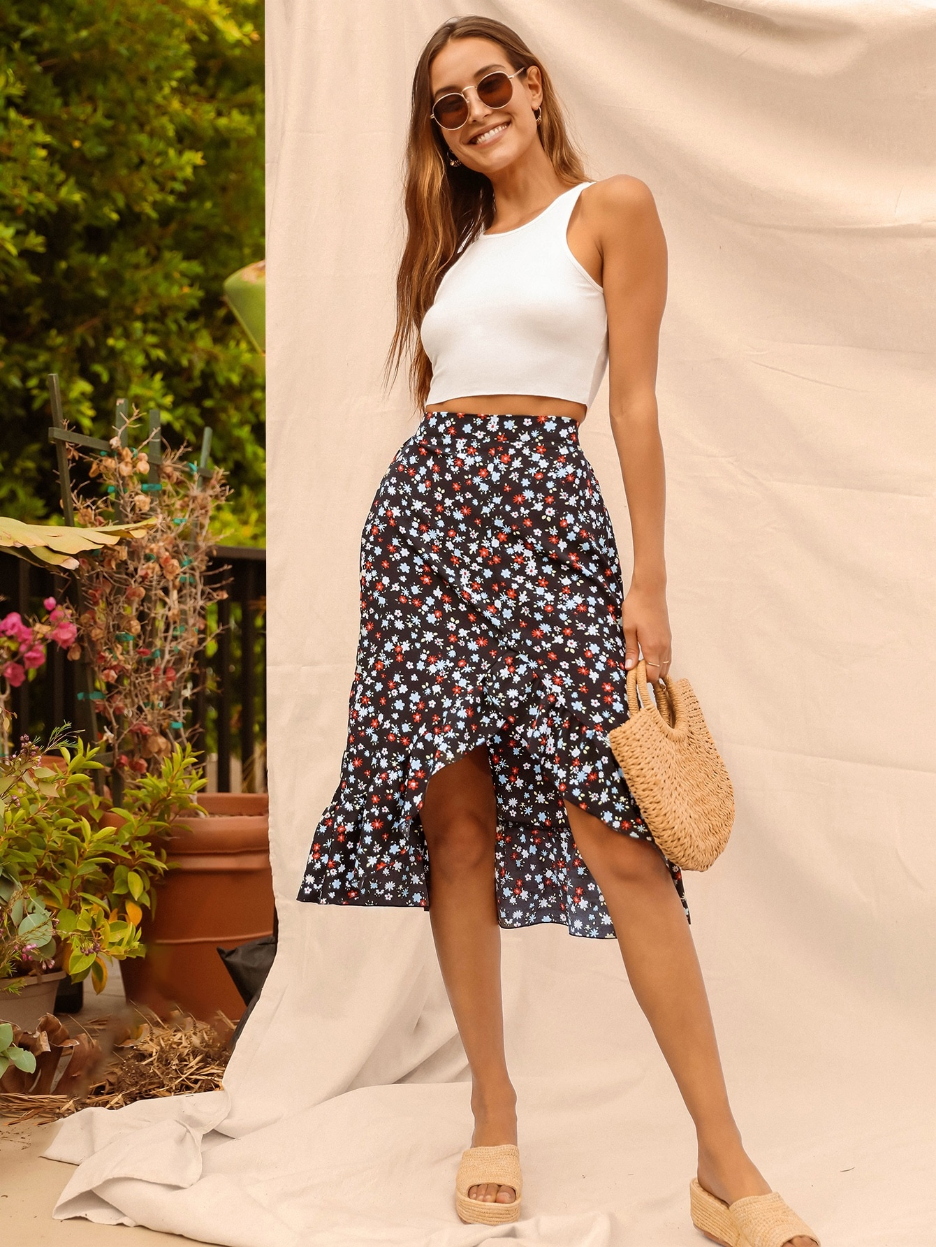 Skirts for women over 40 shein
