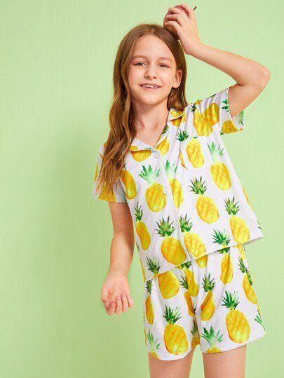 Shein pajama designs for girls