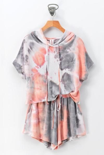 Tie dye shein pajama designs