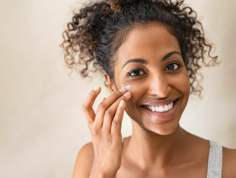 cream to moisturize the skin
