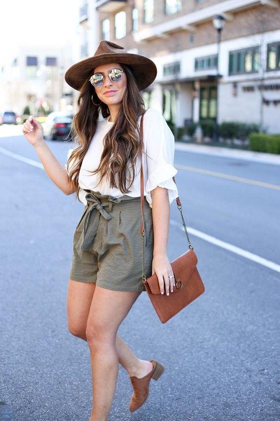 Safari-style shorts