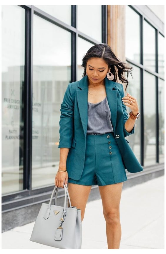 Tailored suits with short