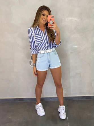 Outfit ideas with shorts and tennis