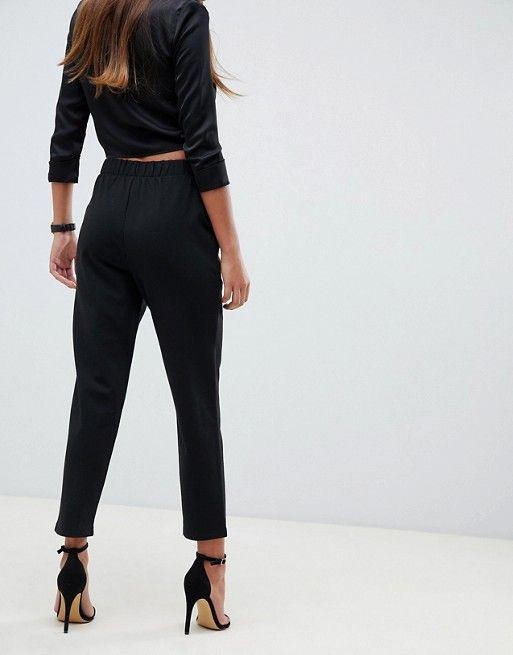 Buy ponte pants instead of tailored pants