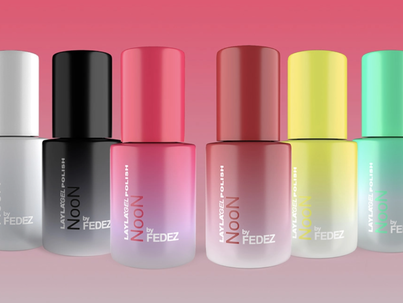 """<strong> Layla Cosmetics, </strong> <em> Noon by Fedez </em>.  Price: € 17.75 each""""/><strong>Layla Cosmetics,</strong> Noon by Fedez.  Price: € 17.75 each        </p> <h2 id="""