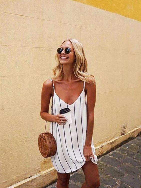 Basic strap dresses
