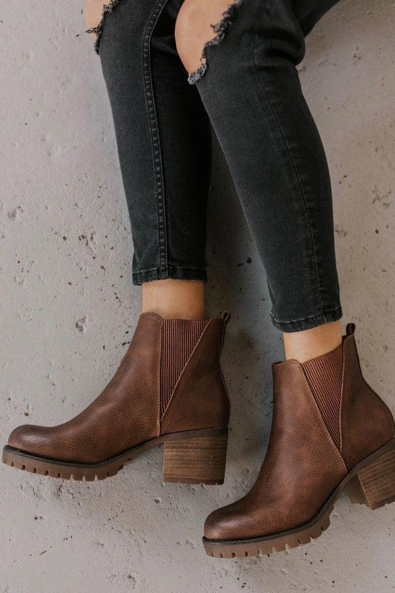 Flat ankle boot designs