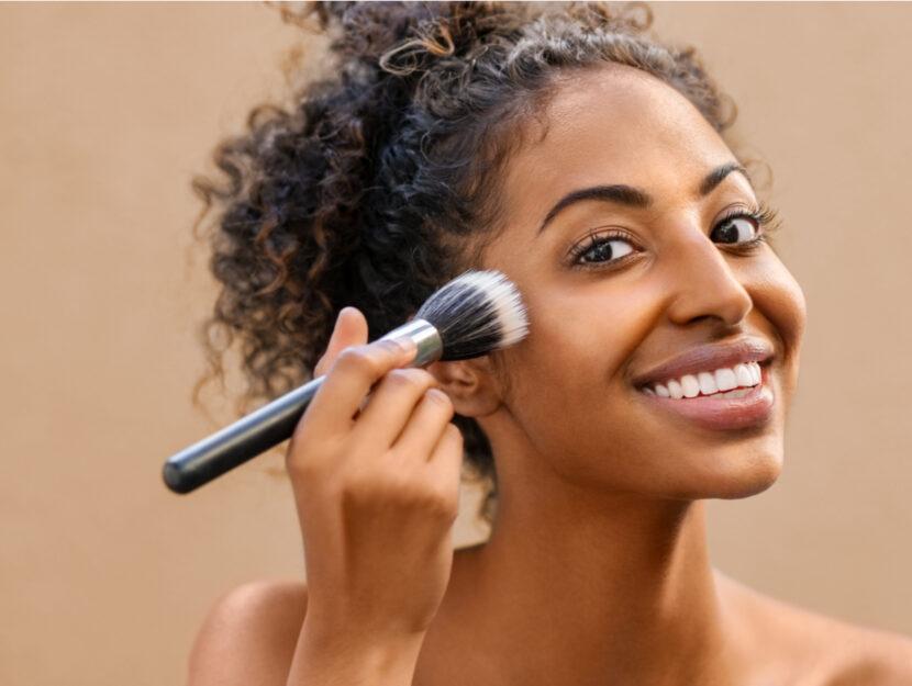 put on good makeup