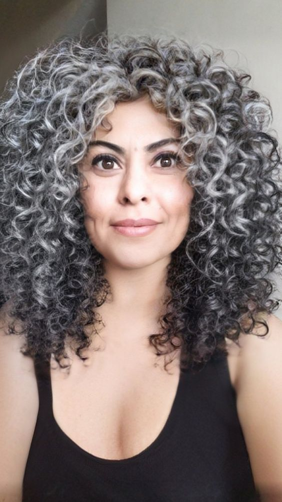 Leave your gray hair natural