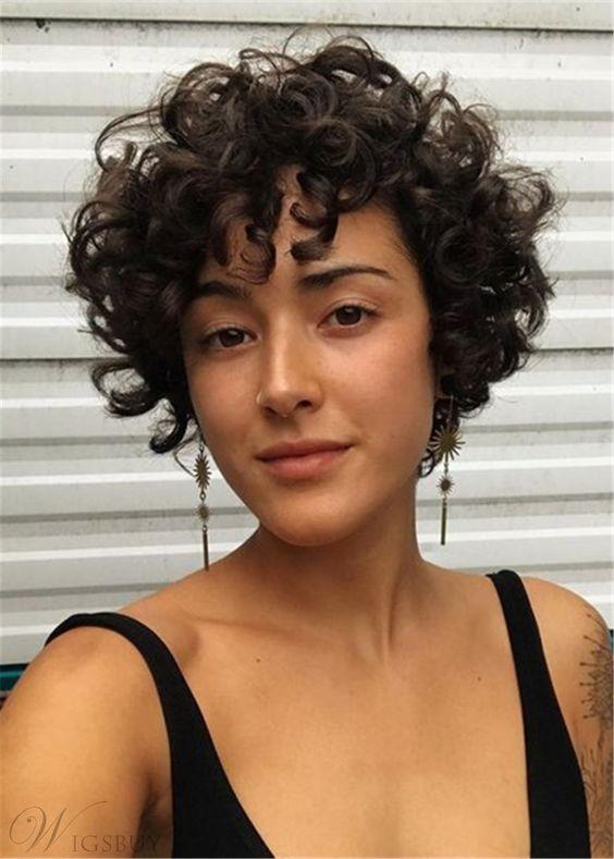 Mini paraded hair