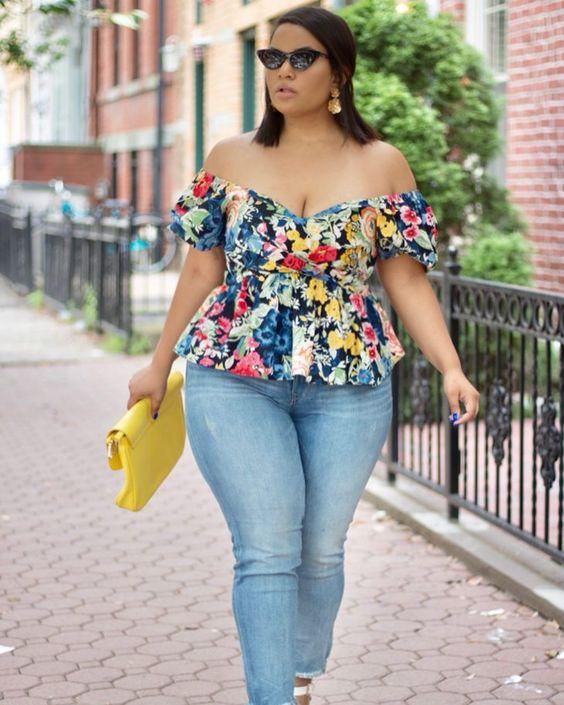 Wear tops with an asymmetric cut